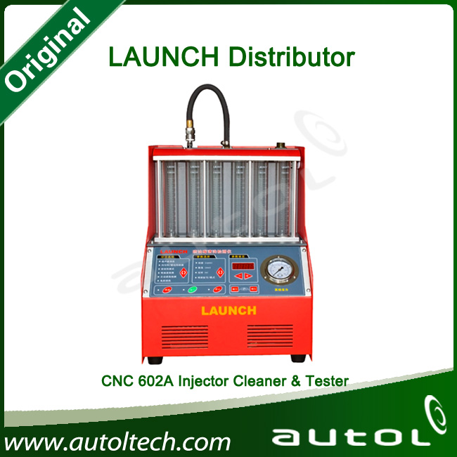 Hot sale!!! Full set CNC602 Launch CNC602A Injector Cleaner and Tester 100% original CNC-602A one year warranty