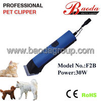 Rechargeable dog hair trimmer / cordless dog hair trimmer 30W power with CE and RoHS approved