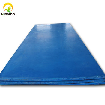 high abrasion resistance customized uhmwpe polyethylene plastic sheet