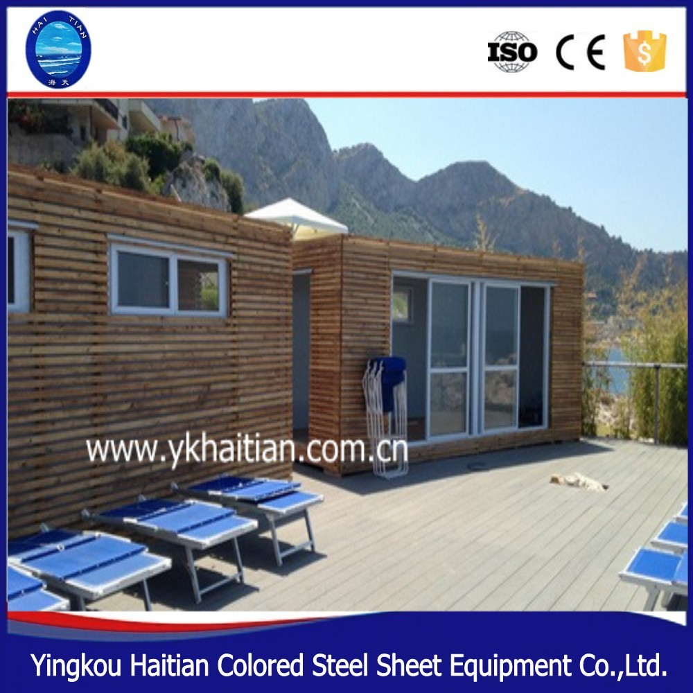 2016 latest wood house prefabricated prefab house steel frame for sale for sale