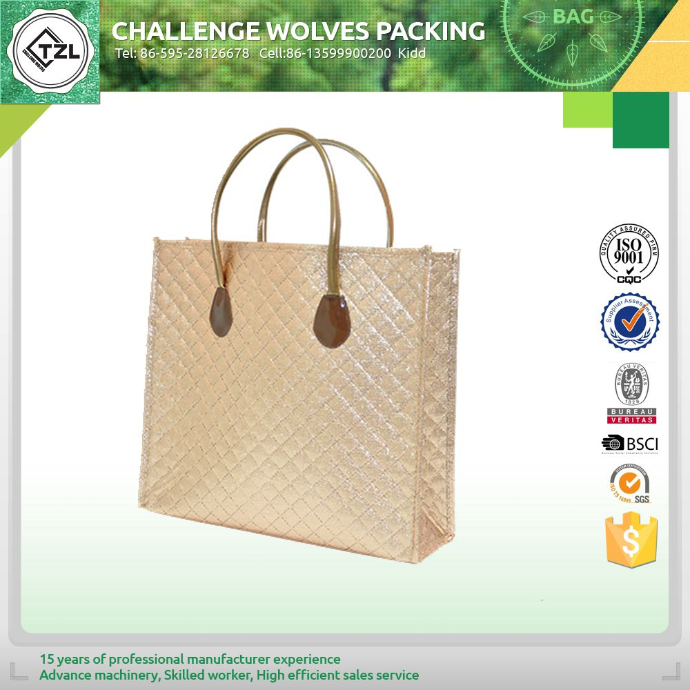Promotional reusable tote bag