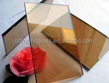 tempered glass for building window/curved reflective glass/solar tempered glass