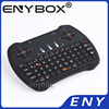 Mini Wireless Keyboard 2.4G Wireless I9 Mini Keyboard with Touchpad Built-in lithium-ion battery
