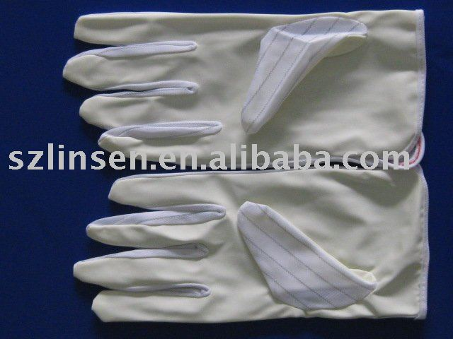 ESD SAFE GLOVE- PU COATED PALM