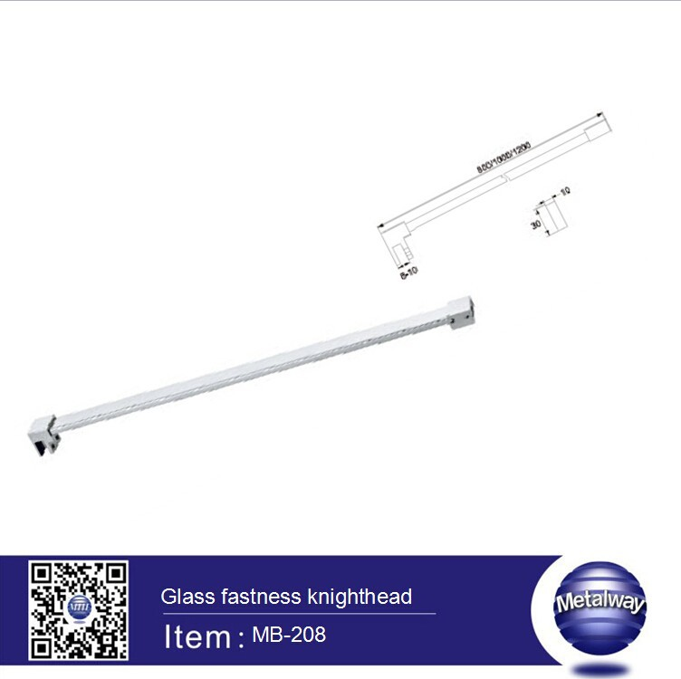 stainless steel bathroom glass knighthead, glass connector, glass clamp