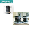 Quality and quantity assured flanged with double sphere rubber expansion joint