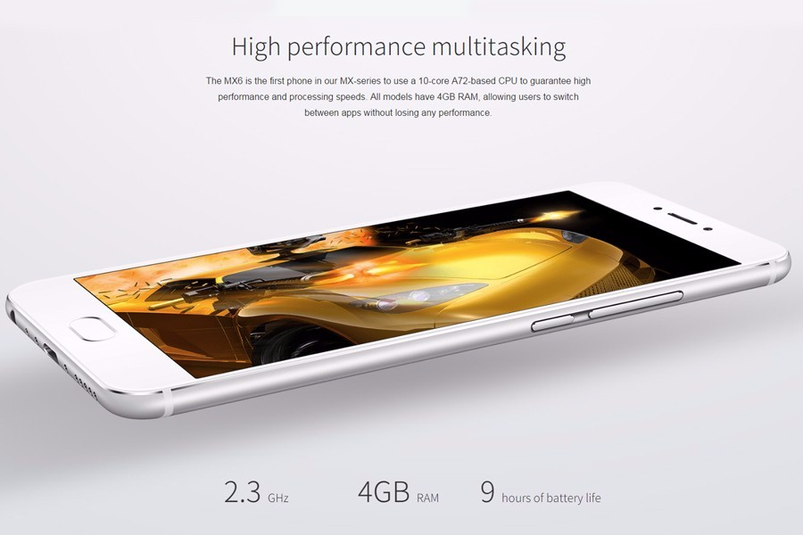 "Original Meizu MX6 Mobile Phone 3GB Ram 32GB Rom Deca Core 1920x1080P 5.5"" 12MP Global Firmware OTA"