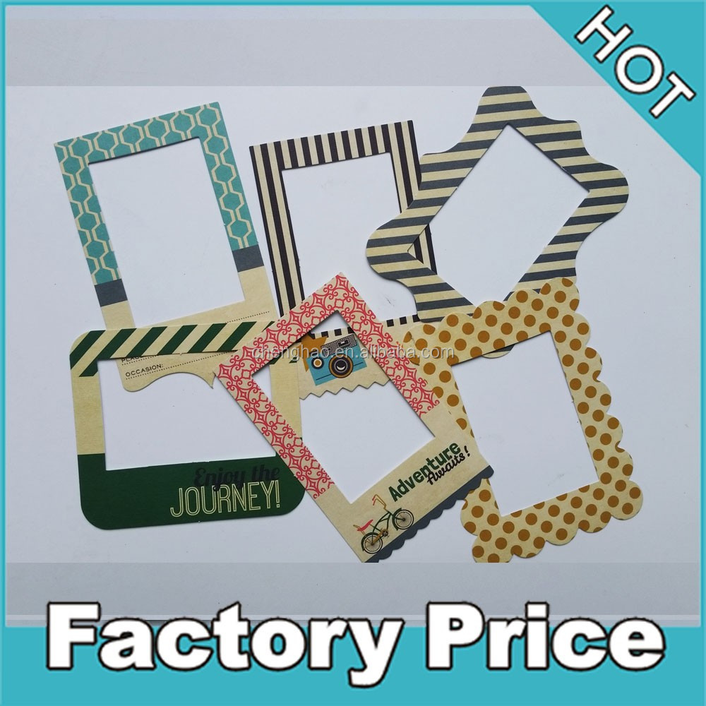 cheap price custom paper patterned picture frame decorations