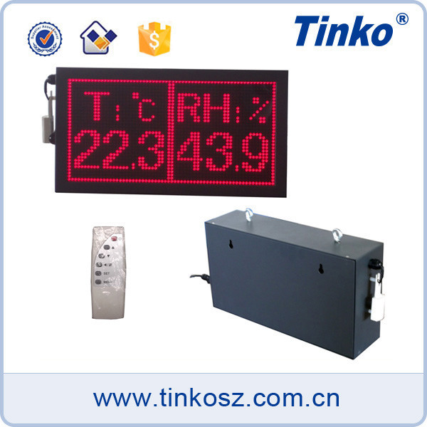 Tinko large LED display time clock date time display for workshop TH32A