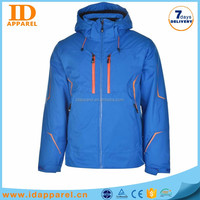 custom logo man snow jacket , non name brand ski jacket winter