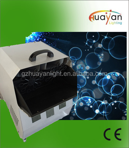 China 300w Soap Big Bubble Machine for Wedding