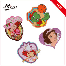 fashion 3d flower embroidery applique patches for clothes,big iron on patches