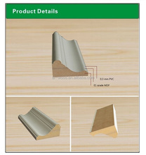 MDF wall baseboard for laminate flooring