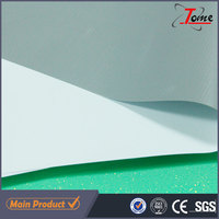 Laminated Inkjet Media PVC Coated Banner Roll For Eco Solvent Printing , 600gsm