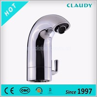 Moden Style Basin Infrared Automatic Faucet Sensors with Hot and Cold Water Mixer
