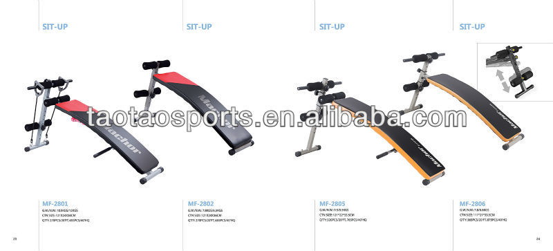 2013 NEW GOOD QUALITY Sit Up Bench Fitness Bench