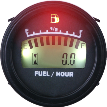 New Fuel Meter LCD Digital Display Fuel Gauge For Car Motorcycle DC12V