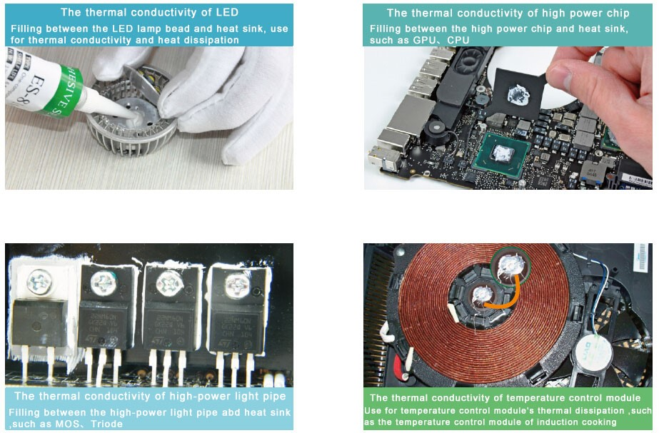 Thermal Grease Electrically Conductive Paste Cooling Cooler Heatsink for Electronic Components