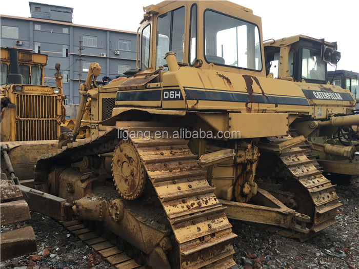used bulldozer D6H for sale/ used crawler dozer D6H/D6M/D6D in stock