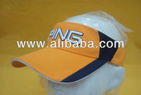 Sports visors, sun visors, cotton visors