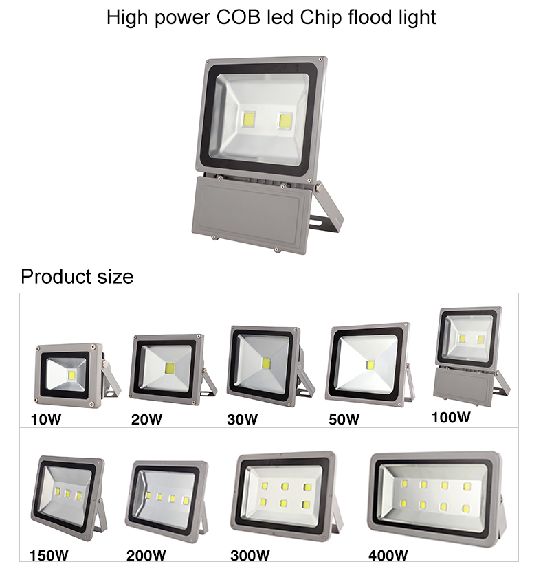 Die-casting Waterproof Outdoor stadium smd led flood light 150w 200w