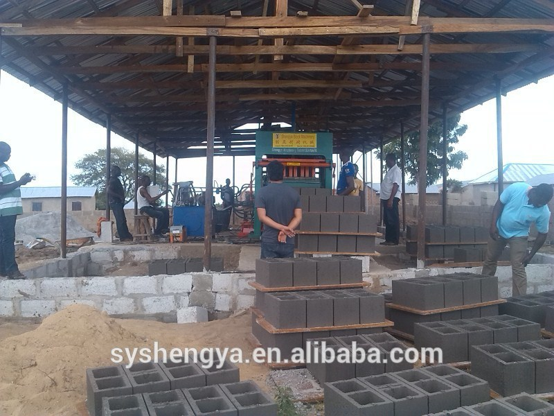 Qt5 20 Cement Block Machine Interlocking Paving Blocks