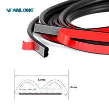 Soundproof weatherstrip for car door