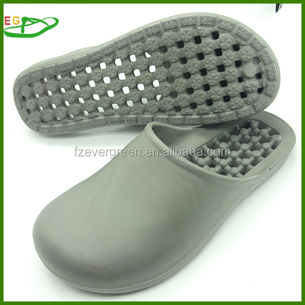 Mens Massage Nubs Footbed Sandals Slippers Shower Sport Slides - Brown Size 7/8