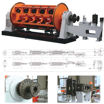 55 Bobbins Rigid Frame Stranding Machine / Rigid Frame Strander for Power Cable Making Equipment