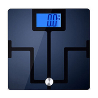 500 lbs barcode infrared mechanic bmi indicator electronic battery weight watchers body analysis glass weighting bathroom scale
