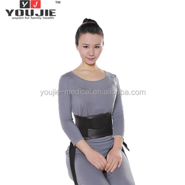 Hot selling Comfortable waist brace with let belt