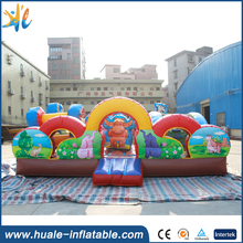 New Design Commercial Inflatable bouncer Crazy Animal Zoo castle Funcity