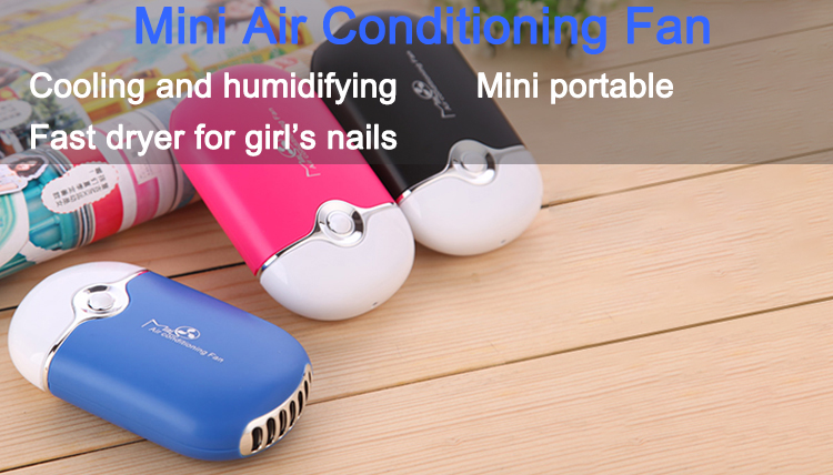 Zomer producten kid opknoping draagbare mini airconditioning fan cool luchtblazer