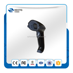 China Cheap Handfree 2D Bluetooth cordless finger programmable barcode scanner HS-5100
