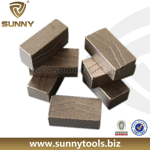 India Formular Stone Cutting Sintered Diamond Segment