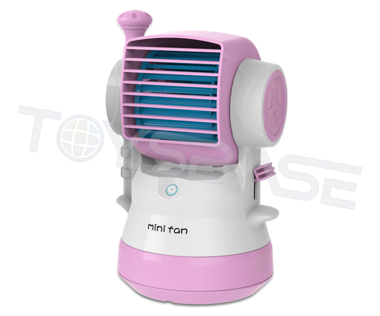 Promotional Gifts OEM Service New Design Summer Kids Toys Battery Operated Mini Fan