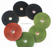 4 Inch Flexible Resin Diamond Granite Polishing Pads