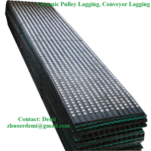 Conveyor Diamond Pulley Lagging with CN-Bonding Layer to prevent belt slippage