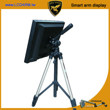 A524 Mobile Portable Compact Tripod Monitor Tablet Display Stand for Outdoor Exhibition Show