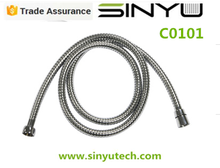 stainless steel chrome plated shower hose (bathroom fittings)