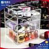Yageli hot sale whoesale clear acrylic drawer organizers with knobs