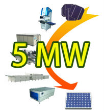 Low Price High Efficiency Solar Panel Assembly Line