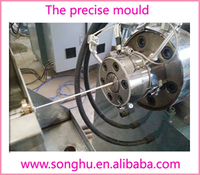 Elastic bands printer filament extrusion production machine