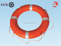 Types of marine inflatable life buoys