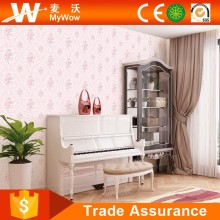[A4-1140703] International Modern Home Decor Material Sound Absorbing Wallpaper Wallcoverings for Girls