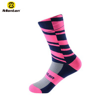 Monton Wholesale Factory Directly Custom Brand Name Quick dry cycling sport running socks