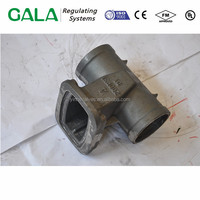 PN16 gate valve carbon steel casting body in china