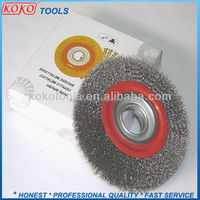 150mm Industry machinery steel wire round circule circular brush