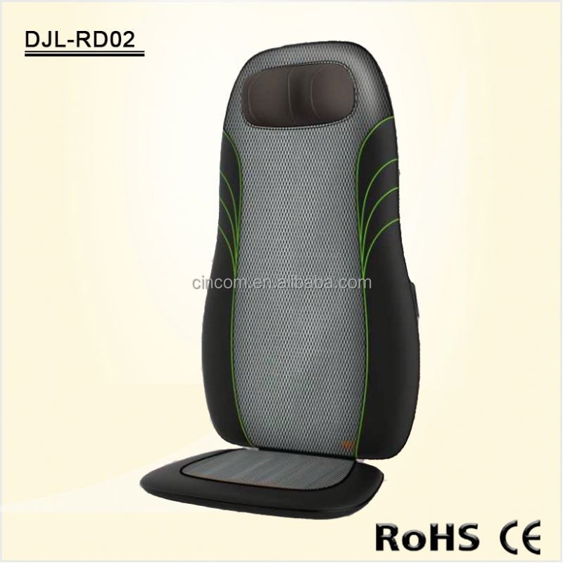 Hot sell Electric Shiatsu Kneading Massage Chair Massage Cushion with heat function -RD02