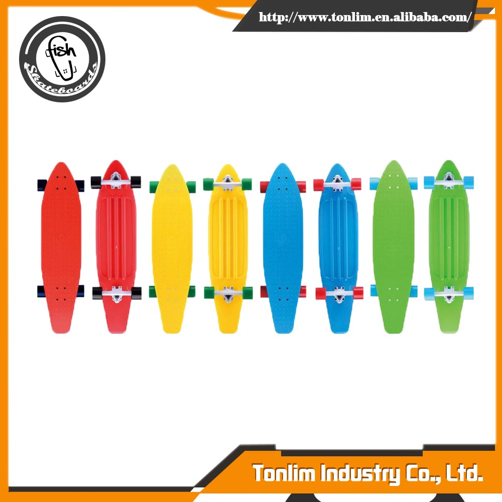 wholesale custom plastic skate board wheels skateboard deck